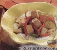 Фото к рецепту: Овощное соте с сыром тофу