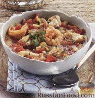 Фото к рецепту: Уха с креветками