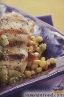 Фото к рецепту: Жареное куриное филе
