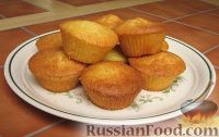 Фото к рецепту: Кекс миндальный