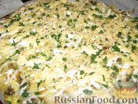 Фото к рецепту: Картофельная запеканка с грибами