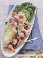 Фото к рецепту: Греческий салат с йогуртовой заправкой