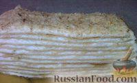 Фото к рецепту: Творожный наполеон