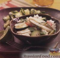 Фото к рецепту: Курица под соусом карри