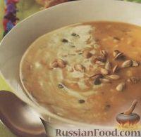 Фото к рецепту: Зимний суп из риса и тыквы