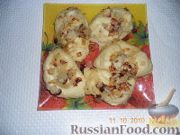 Фото к рецепту: Вареники с картошкой и грибами