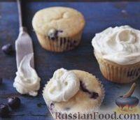 Фото к рецепту: Черничные кексы