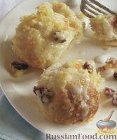 Фото к рецепту: Сладкие сырные булочки