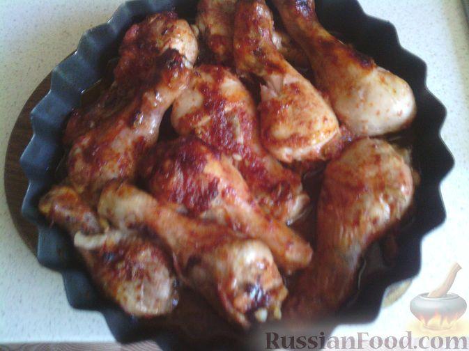 Рецепт Куриные ножки в соево-медовом соусе