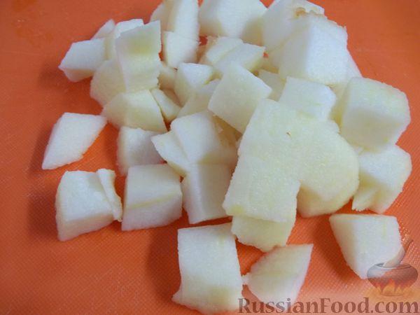 Фото приготовления рецепта: Витаминный фруктовый десерт - шаг №6