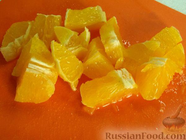 Фото приготовления рецепта: Витаминный фруктовый десерт - шаг №8