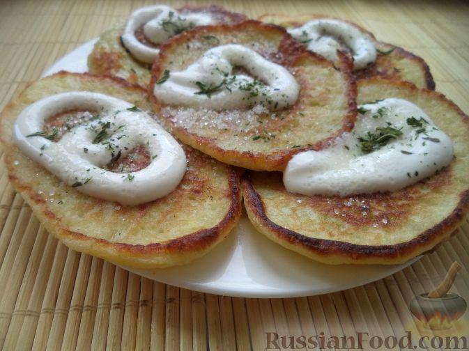 Оладьи из кабачков сладкие фото рецепт