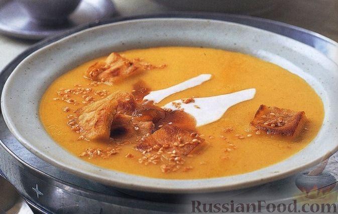 Рецепт Пряный суп-пюре из пастернака