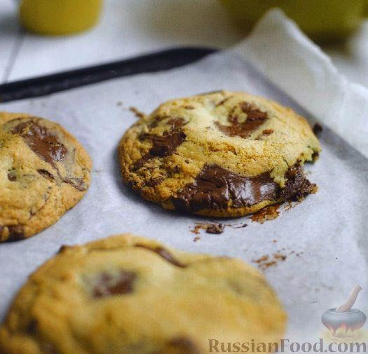 Рецепт Песочное печенье с шоколадом