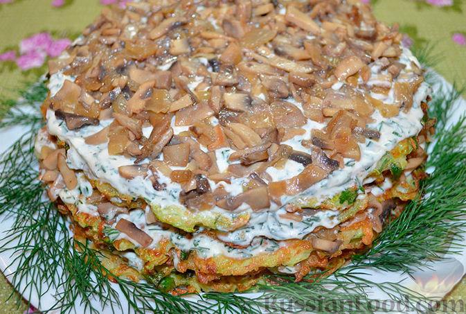кабачковый торт рецепт фото