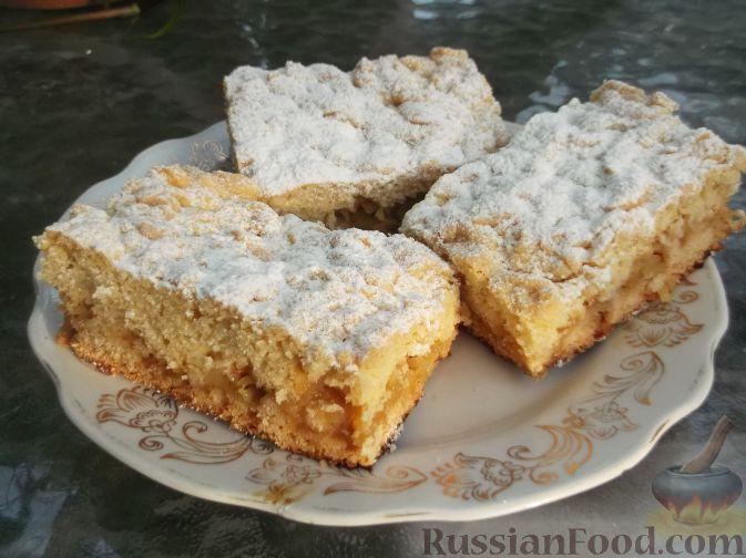 Рецепт Тертый пирог с яблоками