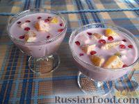 Фото к рецепту: Витаминный фруктовый десерт
