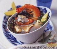 Фото к рецепту: Филиппинский рыбный суп