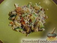 Фото к рецепту: Кус-кус с морепродуктами