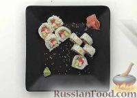 Фото к рецепту: Роллы Хура-маки