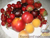 """Фото приготовления рецепта: Фруктовый салат """"Аромат лета"""" - шаг №1"""