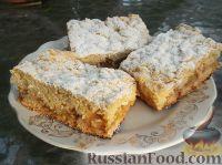 Фото к рецепту: Тертый пирог с яблоками