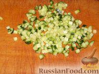 Фото приготовления рецепта: Свекольник холодный летний - шаг №7