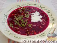 Фото приготовления рецепта: Свекольник холодный летний - шаг №16