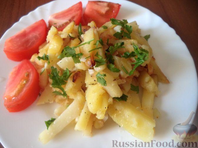 Рецепт Дедушкина жареная картошка