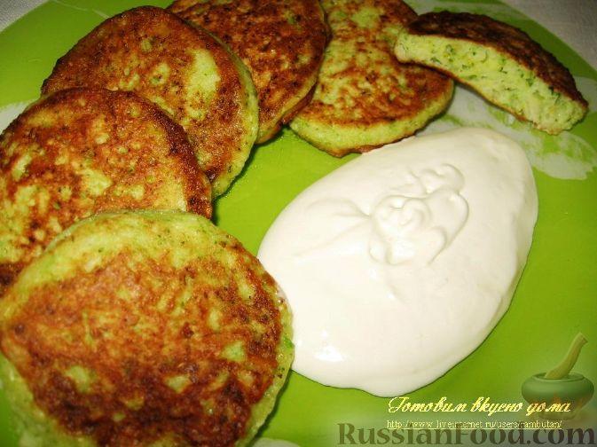 Рецепт Оладьи из цветной капусты и брокколи