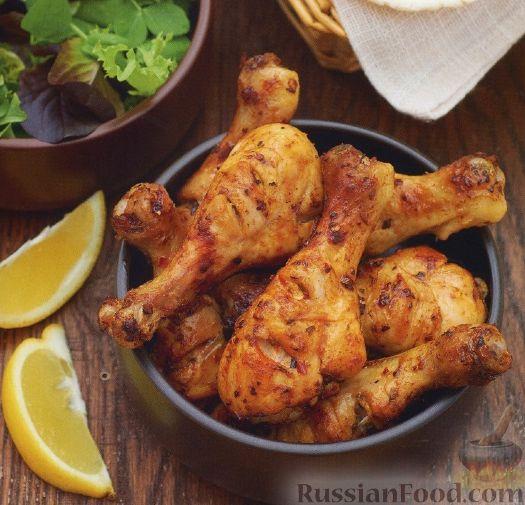 Куриные голени в майонезе на сковороде рецепт