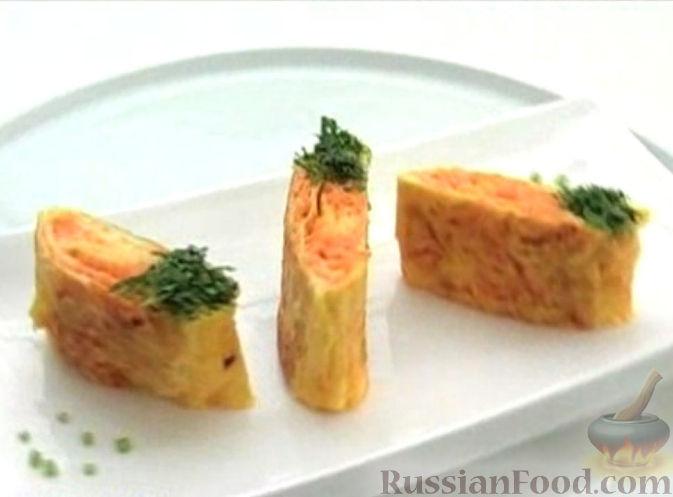 Рецепт Морковный омлет
