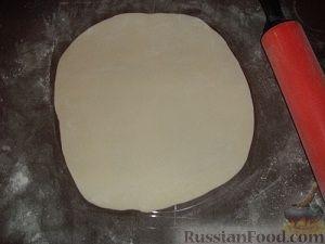 Фото приготовления рецепта: Насыпной яблочный пирог - шаг №5