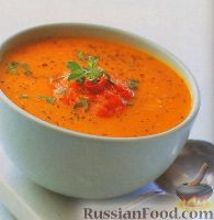 Фото к рецепту: Суп-пюре из тыквы