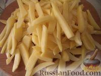 Фото приготовления рецепта: Дедушкина жареная картошка - шаг №3