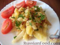 Фото приготовления рецепта: Дедушкина жареная картошка - шаг №10