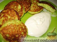 Фото к рецепту: Оладьи из цветной капусты и брокколи