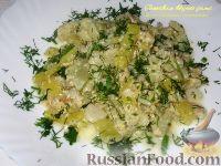 Фото к рецепту: Цветная капуста и стручковая фасоль, тушенные в сливках