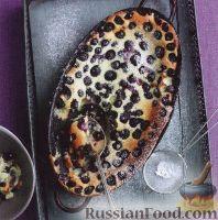 Фото к рецепту: Клафути с черникой