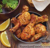 Фото к рецепту: Пряные куриные голени