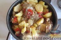 Фото к рецепту: Тава (картофель с говядиной, баклажанами и помидорами)