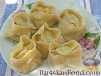 Фото к рецепту: Манты по-русски