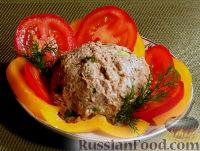 Фото к рецепту: Куриный паштет с черносливом