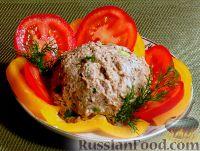 Фото приготовления рецепта: Куриный паштет с черносливом - шаг №4