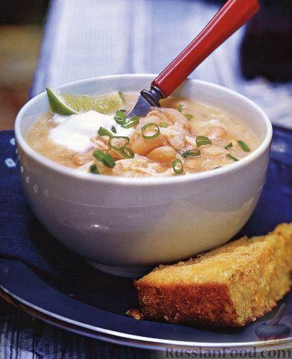 фасолевый суп из консервированной фасоли видео рецепт с фото