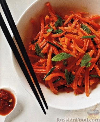 Рецепт Морковный салат с перчинкой