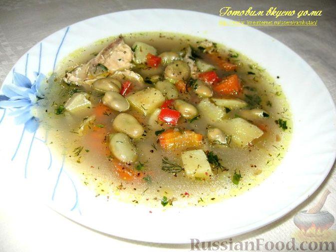 Рецепт Суп с зелеными бобами
