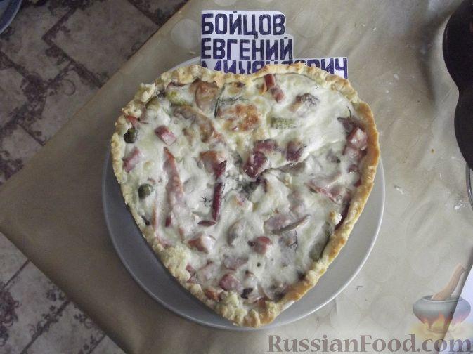 Рецепт Лоранский пирог