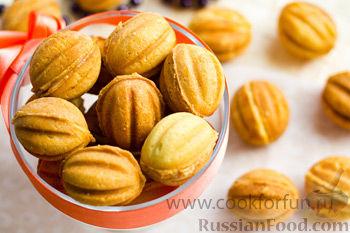 Рецепт Орешки со сгущенкой