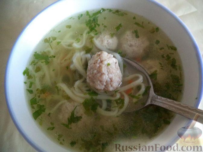Суп картофельный с фрикадельками рецепт